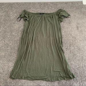 Forever 21 Off Shoulder Mini Dress